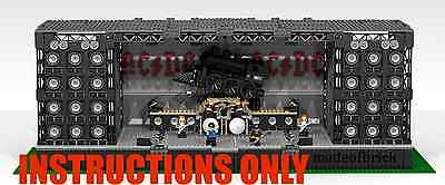 Custom Lego: Rock Concert Stage - Ac Dc - Instructions Only. No Parts