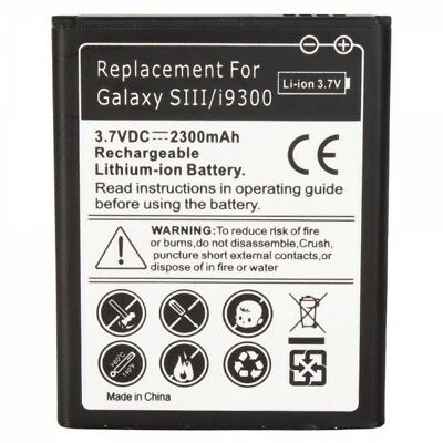 Replacement Battery for Samsung Galaxy S3  S3 i747 T999 i535