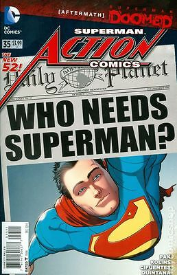 Action Comics (2011 2nd Series) #35A NM