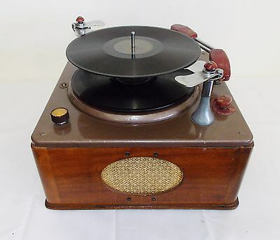 Vintage Voice of Music Model 1000 A Phonograph Record Player 200 B Turntable