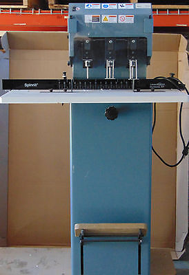 Lassco Lasco Wizer Spinnit Fmms3 Fmms-3 Electric 3 Spindle Hole Paper Drill