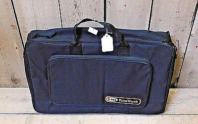 T-Rex Tone Trunk 56 Soft Bag w / 2-Tiered Pedal Board Get Organized! EXTRA CLEAN