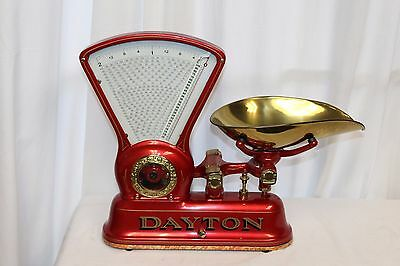 1906 Original DAYTON COMPUTING SCALE CO. MOD 166 Restored Candy 2lb Scale