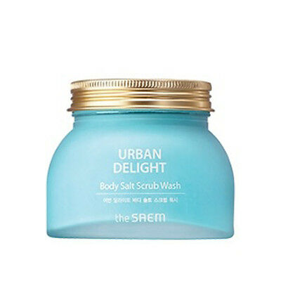 [the SAEM] URBAN DELIGHT Body Salt Scrub Wash 320g
