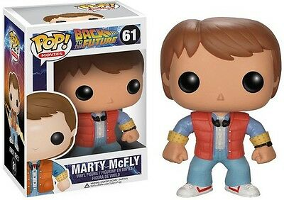 Back To The Future - Marty - Funko Pop! Movies (2013, Toy New)