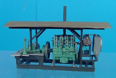 O/On3/On30 1/48 WISEMAN MODEL SERVICES HOLT 75 STATIONARY ENGINE POWER UNIT KIT