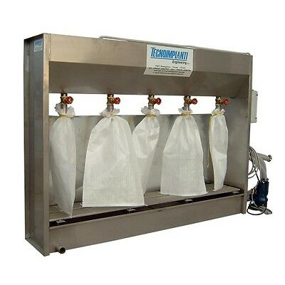 DS-50 Sludge Dehydrator 5 Bag with Pump