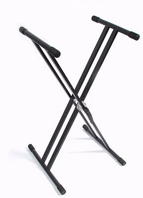Keyboard Stand Clamp Style Height Adjustment