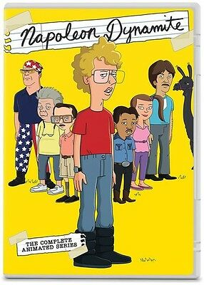 Napoleon Dynamite: The Complete Animated Series (2014, REGION 1 DVD New)