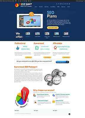 SEO Social Media Marketing And Traffic Reseller Turnkey Website Business! Sale!