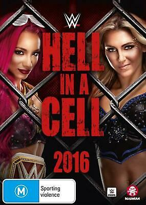 WWE - Hell In A Cell 2016 - DVD Region 4 Free Shipping!