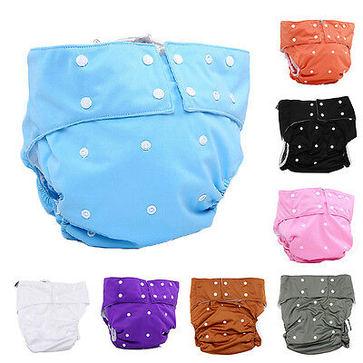 Adjustable Washable Teen /Adult Soft Cloth Diaper for Bedwetting Incontinence