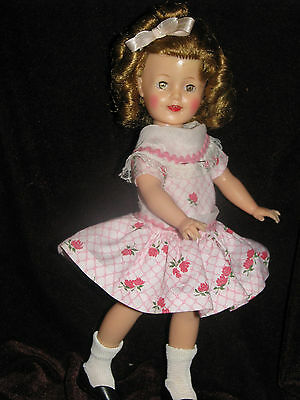 L@@k $40  Off Shirley Temple 12 Inch Doll 1950's Original By Ideal Toy Corp.
