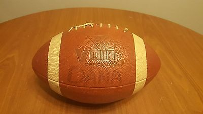 Vintage AMF Voit Full Size NFL Official Football Hard Rubber Mancave