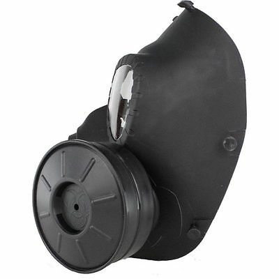 New Gas Mask Double Filter Fan CS Edition Perspiration Dust Face Guard 3 Colors