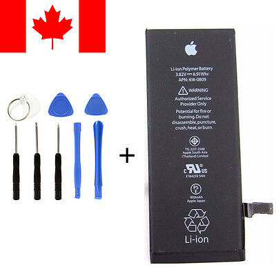 New Original Genuine OEM Apple iphone 6 replacement battery 1810mah with tools
