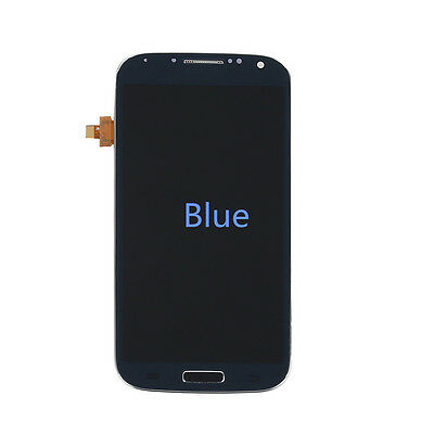 Complete LCD Touch Screen Glass Digitizer & Frame for Samsung Galaxy S4 i9505