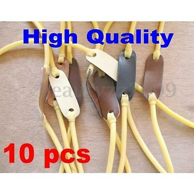 10x Velocity Elastic Bungee Rubber Band for Slingshot Catapult Hunting Fishing