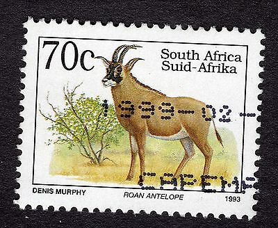 1993 South Africa 70c Roan antelope type II SG813c FINE USED R29752