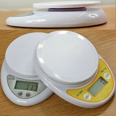 5Kg/1g Digital LCD Kitchen Food Diet Post Weight Electronic Scale