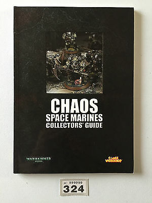 Games Workshop Warhammer 40,000 40K Chaos Space Marine Collectors Guide