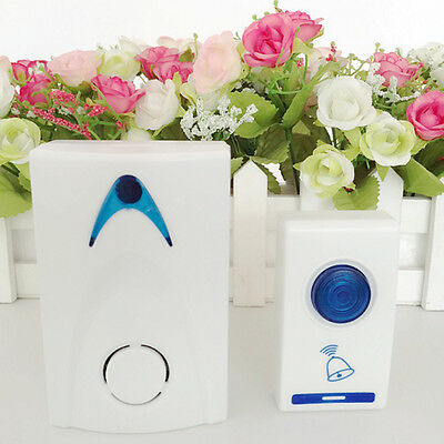 LED Wireless Chime Door Bell Doorbell & Wireles Remote control 32 Tune Songs FP