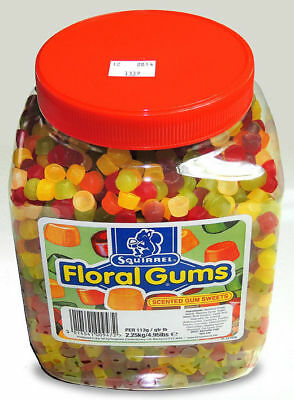 Squirrel Floral Gums - Full Jar 2.2kg