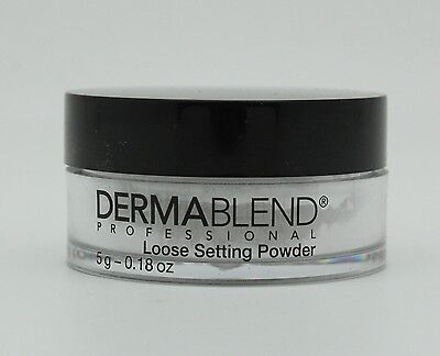 Dermablend Professional Loose Setting Powder, .18 Ounce