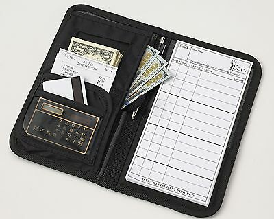 Slim Waiter Book Waitstaff Organizer Wallet with the highest quality & FREE pad
