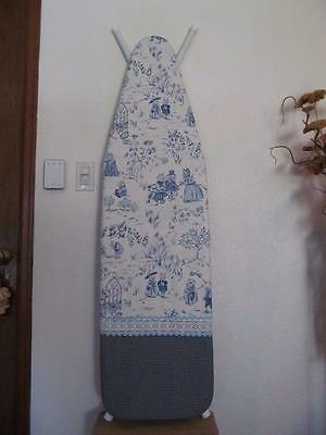 Handmade Ironing Board Cover Scalamandre Up On Cranberry Hill Blue