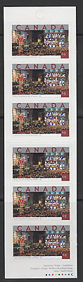 Canada #BK293 49¢ Tourist Attractions Booklet MNH