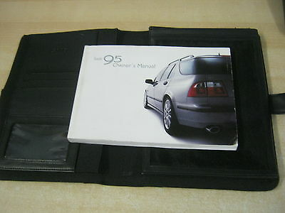 Saab 95 9-5  Handbook Pack Owners Manual Wallet 2001-2006