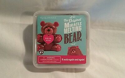 New The Original Miracle Melting Bear It Melts Again & Again New Sealed.