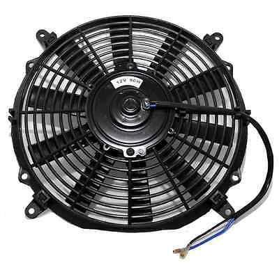 "10"" Universal Slim Line Radiator Fan 12 volts 80w Sealed Motor"