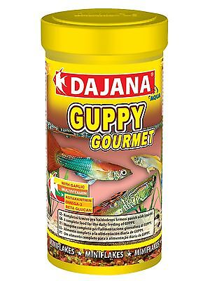 Dajana Guppy Gourmet Flake Specially Formulated For Guppy Fish