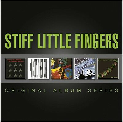 Stiff Little Fingers - Original Album Series [New CD] Holland - Import