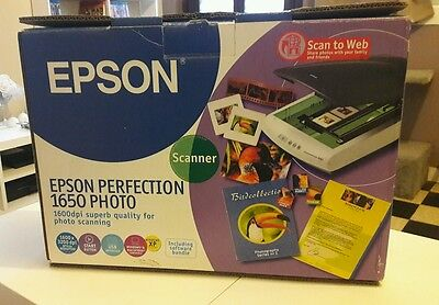 Scanner epson perfection 1650