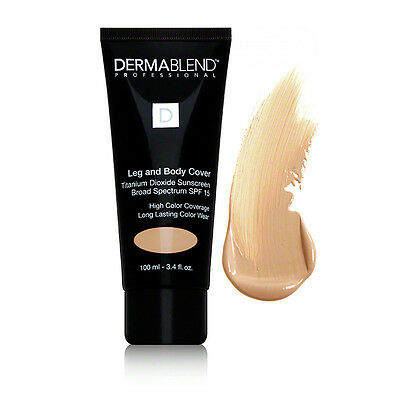 ❤DERMABLEND PROFESSIONAL Leg and Body Foundation Cover  - SAMPLE - 2/ 5/ 10ml❤