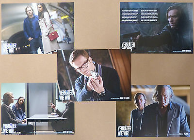 OUR KIND OF TRAITOR - Lobby Cards Set of 5 - Ewan McGregor, Naomi Harris