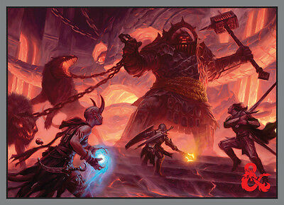 Dungeons and Dragons: Fire Giant Deck Protector (50) UPI 86516