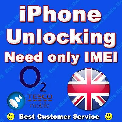 UNLOCK Service for iPhone 7 & 7 PLUS O2 & Tesco UK.