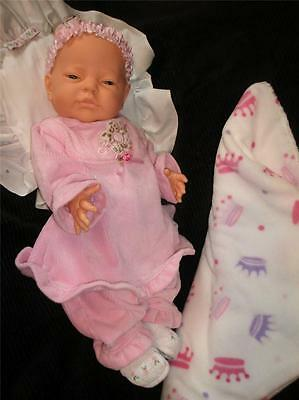 EXTREMELY RARE Berjusa Doll 4 REBORN/Play She SHIVERS When her CHEST Is EXPOSED