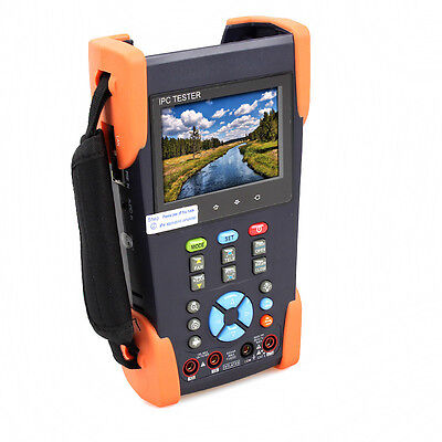 "Handheld 3.5""LCD CCTV Camera Tester PTZ Multimeter+ Cable finder +TDR Cable Test"