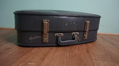 Vintage Retro Blue 1960's Spartan Suitcases – Hard Case - Storage Cases