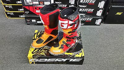 Gaerne Sg-12 Boots Orange And Red Size 10 Answer Boots