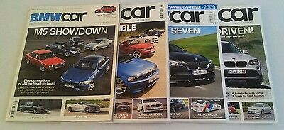 BMW CAR MAGAZINE - Back Issues from No.1 to issue No. 210. Please see list.