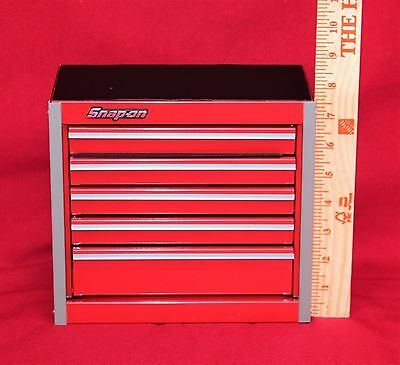 Snap On Red Mini Bottom Roll Cab Tool Box - Brand New