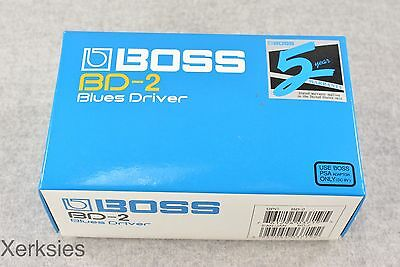 Boss BD-2 Blues Driver Guitar Effects Pedal (CARDBOARD BOX ONLY) #3798