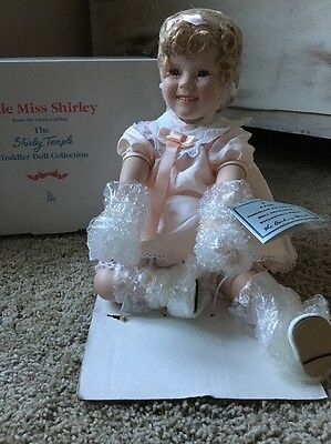 Little Miss Shirley Temple Doll 1997 With Original Box