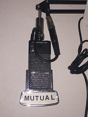 Heil Classic Microphone with desk boom - Mutual Flag - Vintage RCA 74B Clone